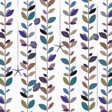 Blue tone nature leaf vine background. Background image of nature leaf vine pattern in blue tone royalty free illustration