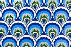 Blue tone pattern Royalty Free Stock Image