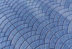 Blue toned pavement surface. Stock Image
