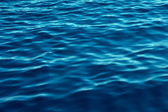 Blue Tones Water Waves Background Stock Photography