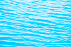 Blue Tones Water Waves Surface as Background Royalty Free Stock Image