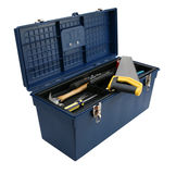 Blue Toolbox Royalty Free Stock Image