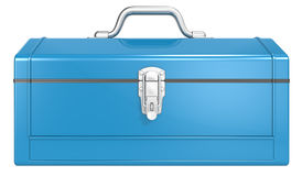 Blue Toolbox. Stock Photography