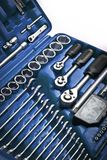 Blue toolbox Royalty Free Stock Photos
