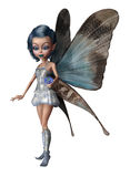 Blue toon fairy Royalty Free Stock Images