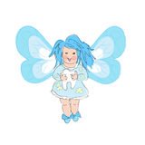 Blue Tooth Fairy Royalty Free Stock Images