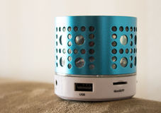 Blue tooth usb smart phone speaker Royalty Free Stock Image