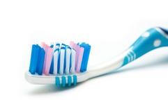 Blue toothbrush Royalty Free Stock Photos