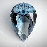 Blue topaz stock illustration