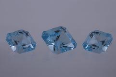 Blue topaz Royalty Free Stock Image