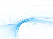 Blue Topology Template Stock Photos