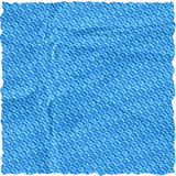 Blue torn paper. Isolate on white background Stock Photography