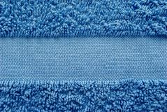 Blue towel Stock Photos