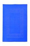Blue towel Royalty Free Stock Photo