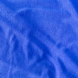 Blue towel softness fabric texture Stock Image