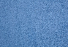 Blue towel texture. The background Royalty Free Stock Image