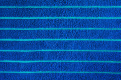 Blue towel texture Stock Image