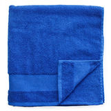 Blue towels Royalty Free Stock Image