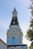 Blue tower. Trinity Sergius Lavra Stock Image