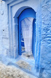 Blue town Chefchaouen, Morocco Stock Images