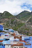 Blue town Chefchaouen, Morocco Stock Photography