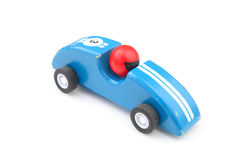 Blue toy race car Stock Image