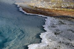 Lower Geyser Basin Royalty Free Stock Images