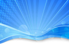 Blue transparent background template Stock Photo