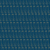 Blue trendy pattern with  socks Royalty Free Stock Photography
