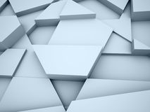 Blue triangle abstract background concept Royalty Free Stock Photo