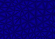 Blue triangle abstract background Stock Images
