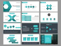 Blue triangle Bundle infographic elements presentation template. business annual report, brochure, leaflet, advertising flyer,. Corporate marketing banner Royalty Free Stock Photos