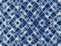 Blue triangles royalty free stock image