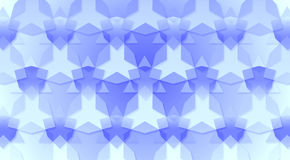 Blue Triangles and Hexagons Background Texture. Abstract background made from triangles and hexagon shapes Royalty Free Stock Images