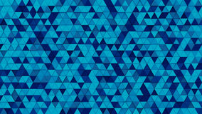Blue triangles mosaic 3D render. Blue triangles mosaic. 3D render abstract background Stock Photo