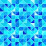 Blue triangular background. Vector modern geometrical backdrop with triangles. Bright colors. abstract texture. wallpaper for. Cover, home decor, interior stock illustration