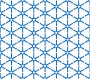Blue triangular grid Royalty Free Stock Photography