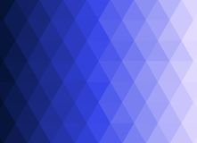 Blue Triangulation Abstract Background. With gradations from dark to light Stock Images