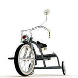 Blue tricycle Stock Photography