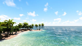 Blue tropical sea. Raster. 1 Stock Photography
