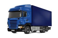 Blue truck Stock Image