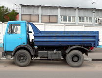 Blue truck Royalty Free Stock Photos