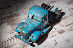 A blue truck Stock Images