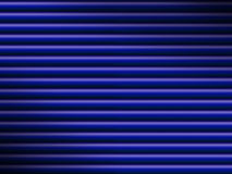 Blue tube background dramatically lit Stock Photography