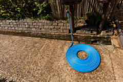 Blue tube were orderly Royalty Free Stock Photography