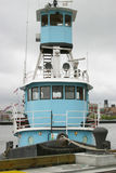 Blue Tug boat Royalty Free Stock Image