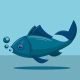 Blue  tuna fish Stock Photo
