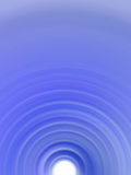 Blue tunnel. Tunnel background Stock Photos
