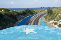 Blue Tunnel of Havana royalty free stock images