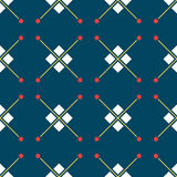 Blue turkish ornamental ceramic tile vector illustration